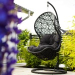Balansoar din rattan sintetic - Agget - 40314 - Relaxare