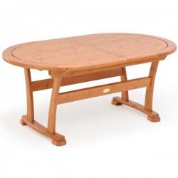 Masă din lemn de pin nordic - culoarea mierii - 12402