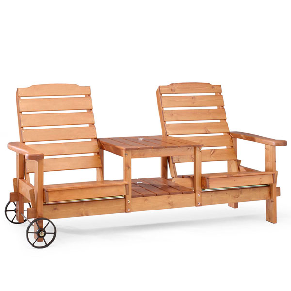 Rullsofa din lemn de pin nordic - Dalom - 86112