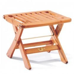 Taburet din lemn de pin nordic - Amelia - culoarea mierii - 45042