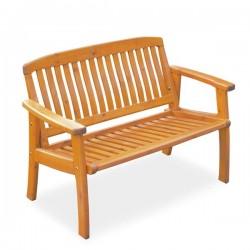 Canapea din lemn de pin nordic - Amelia - culoarea mierii - 45022
