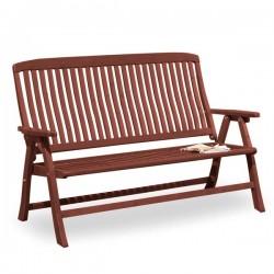 Canapea din lemn de pin nordic - Amelia - culoarea mierii - 45336