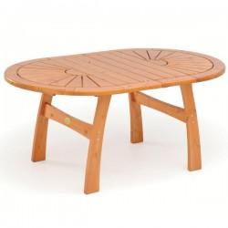 Masă din lemn de pin nordic - culoarea mierii - 11702