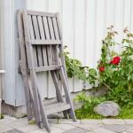 Scaun pliant - Bullerö - gri - 570605