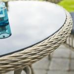 Masă rattan sintetic - Coriano Café - 42470